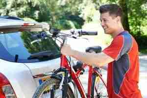 How to Lock a Bike to a Car Bike Rack